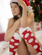 Emily Grey Christmas girl