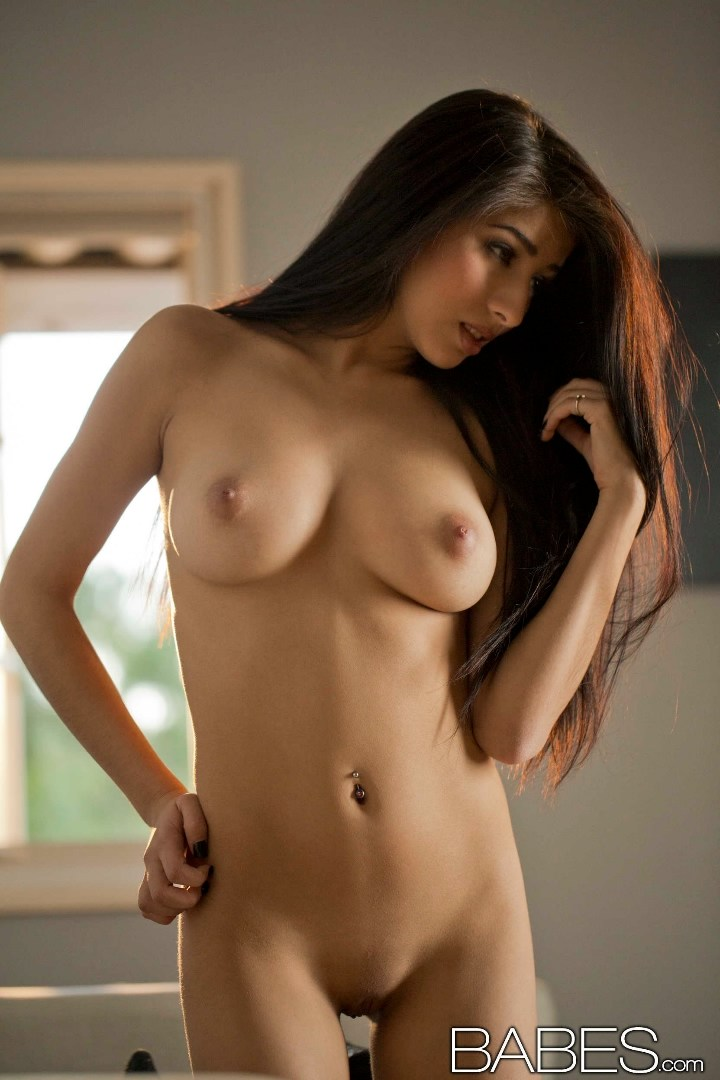 super hot latina megan salinas shows her exquisite naked